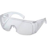【CAINZ DASH】TRUSCO まとめ買い 一眼型セーフティグラス レンズ透明 1Pk(箱)10個