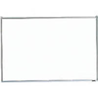 【CAINZ DASH】TRUSCO スチール製ホワイトボード 無地 粉受付 450X600