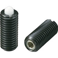【CAINZ DASH】kipp スプリングプランジャー(重荷重用・樹脂ピン)M12