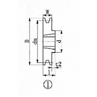 【CAINZ DASH】EVN ブッシングプーリー SPA 103mm 溝数1