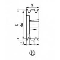 【CAINZ DASH】EVN ブッシングプーリー SPA 112mm 溝数3