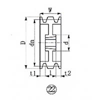 【CAINZ DASH】EVN ブッシングプーリー SPA 212mm 溝数3