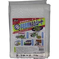 【CAINZ DASH】ユタカメイク シート PE透明糸入りシート(UV剤入) 2.7m×2.7m