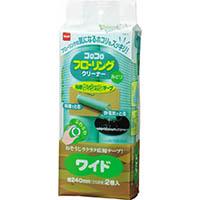 【CAINZ DASH】ニトムズ コロコロスペアテープフローリングクリーナーワイド (2巻入)
