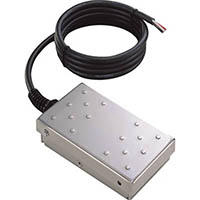 【CAINZ DASH】オジデン フットスイッチ ステンレス製 電気定格0.1A−30VDC