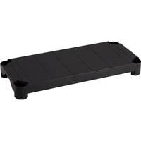 【CAINZ DASH】TRUSCO プラ棚用 棚板軽量型 800X350 黒