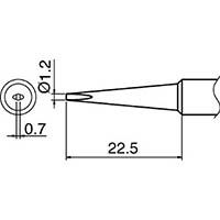 【CAINZ DASH】白光 こて先 1.2DL型