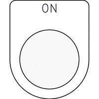 【CAINZ DASH】IM 押ボタン/セレクトスイッチ(メガネ銘板) ON 黒 φ30.5