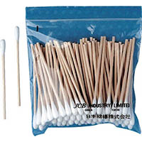 【CAINZ DASH】JCB 工業用綿棒A3S−100 (100本入)