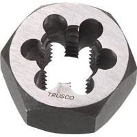 【CAINZ DASH】TRUSCO 六角サラエナットダイス W1/4−20