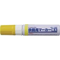 【CAINZ DASH】サクラ 鉄鋼用マーカー極太 黄