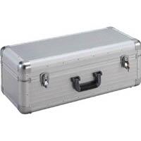 【CAINZ DASH】TRUSCO 大型アルミ工具箱 内寸640X260XH230 シルバー