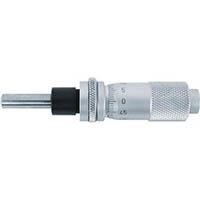【CAINZ DASH】SK マイクロメータヘッド 測定範囲0〜13mm ナット・ステムクランプ付