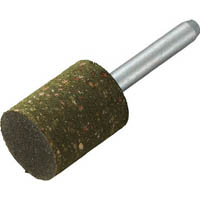 【CAINZ DASH】TRUSCO ゴム軸付砥石 Φ15X幅20X軸6 #120 5本入