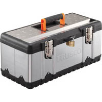 【CAINZ DASH】TRUSCO ステンレス工具箱 Sサイズ