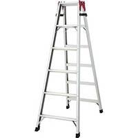 【CAINZ DASH】ハセガワ アルミ合金製はしご兼用脚立