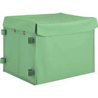 【CAINZ DASH】TRUSCO ハンドトラックボックス蓋つき650×470