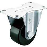 【CAINZ DASH】ユーエイ 重量用キャスター固定車 65径フェノール車輪