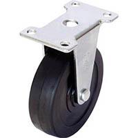 【CAINZ DASH】ユーエイ キャスター固定車 径125ハードゴム車輪