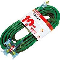 【CAINZ DASH】ハタヤ 2P延長コード 10m ブルー