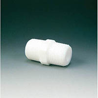 【CAINZ DASH】フロンケミカル フッ素樹脂(PTFE) ニップル R1/4XR1/4