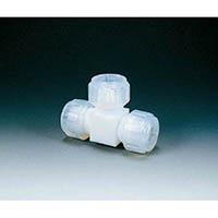 【CAINZ DASH】フロンケミカル フッ素樹脂 接続ジョイントT型 8mm