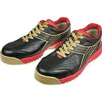 ディアドラ DIADORA 安全作業靴 ピーコック 黒 25.0cm