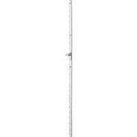 【CAINZ DASH】スガツネ工業 アルミ製面付棚柱 AP−DM2600(120−030−087)