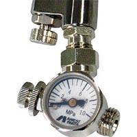【CAINZ DASH】アネスト岩田 ロータリー式手元圧力計