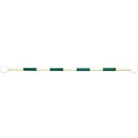 【CAINZ DASH】ミツギロン ガードバー1.5m白×緑テープ