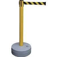 【CAINZ DASH】緑十字 バリアースタンド(スタート+キャッチ) ポール:黄 ベルト:黄/黒