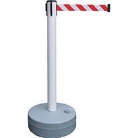 【CAINZ DASH】緑十字 バリアースタンド(スタート+キャッチ) ポール:白 ベルト:白/赤