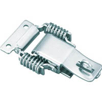 【CAINZ DASH】TRUSCO パッチン錠 鍵穴付バネタイプ 2個入
