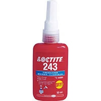 【CAINZ DASH】ロックタイト ねじ緩み止め接着剤 中強度 243 10ml