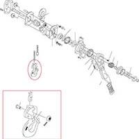 【CAINZ DASH】キトー LB015用部品 コネジ