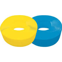 【CAINZ DASH】TRUSCO 手締用PPバンド 15.5mmX1000m巻 段ボールパック 黄