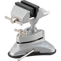【CAINZ DASH】TRUSCO アルミ合金バイス 吸盤タイプ