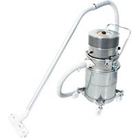 【CAINZ DASH】スイデン クリーンルーム用掃除機(クリーナー)微粉じん対応