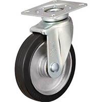 【CAINZ DASH】イノアック 牽引台車用キャスター 静粛型旋回金具付 Φ150