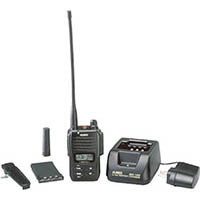 【CAINZ DASH】アルインコ デジタル登録局無線機1Wタイプ薄型セット