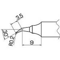 【CAINZ DASH】白光 こて先 0.2RSB型