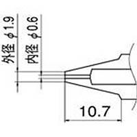 【CAINZ DASH】白光 ノズル 0.6mm