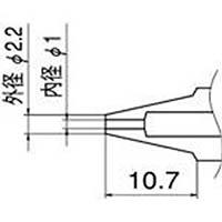 【CAINZ DASH】白光 ノズル 1.0mm