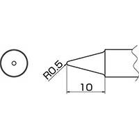 【CAINZ DASH】白光 こて先 0.5B型