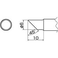 【CAINZ DASH】白光 こて先 6C型