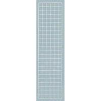 【CAINZ DASH】TRUSCO 棚用ディスプレイネット 金具付 300X1200 ネオグレー