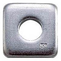 【CAINZ DASH】TRUSCO テーパーワッシャー ユニクロム サイズM16(5/8) 10個入