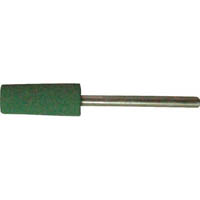 【CAINZ DASH】TRUSCO 高耐久ゴム軸付砥石 Φ6X幅17X軸3 #220 10本入