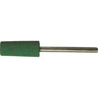 【CAINZ DASH】TRUSCO 高耐久ゴム軸付砥石 Φ8X幅20X軸3 #220 10本入