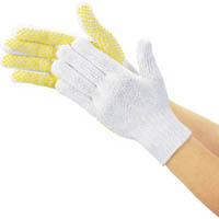 【CAINZ DASH】TRUSCO 安全すべり止め手袋 厚手 フリーサイズ
